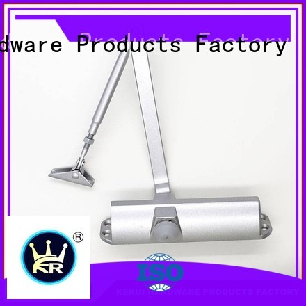 Kerui Furniture Hardware Brand square threespeed custom automatic door closer price