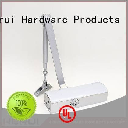 Quality automatic door closer price Kerui Furniture Hardware Brand door automatic door closer