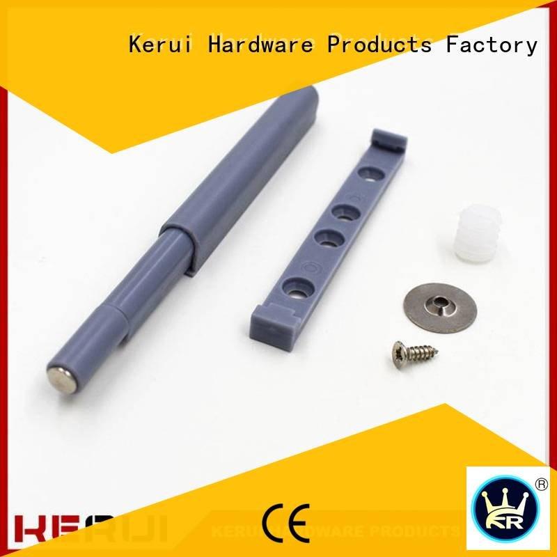 Custom rebound device hidden selflocking cabinet Kerui Furniture Hardware