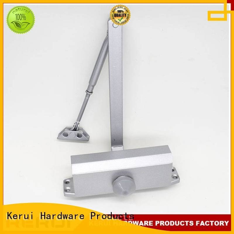 quadrangle square double triangel Kerui Furniture Hardware automatic door closer price