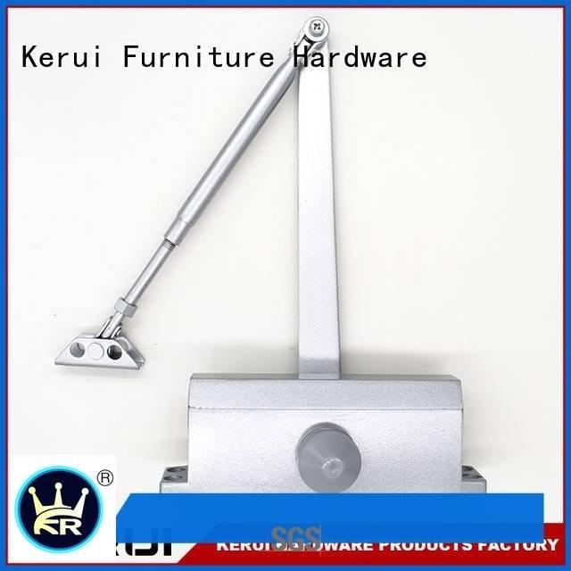 triangel square Kerui Furniture Hardware automatic door closer price