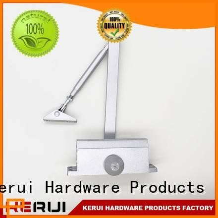 Kerui Furniture Hardware automatic door closer closer hidden double square