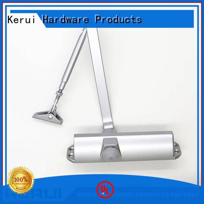 spring door threespeed automatic door closer Kerui Furniture Hardware Brand