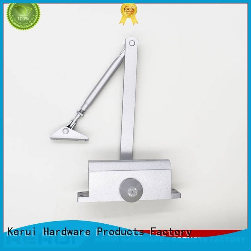 Kerui Furniture Hardware quadrangle automatic door closer threespeed square