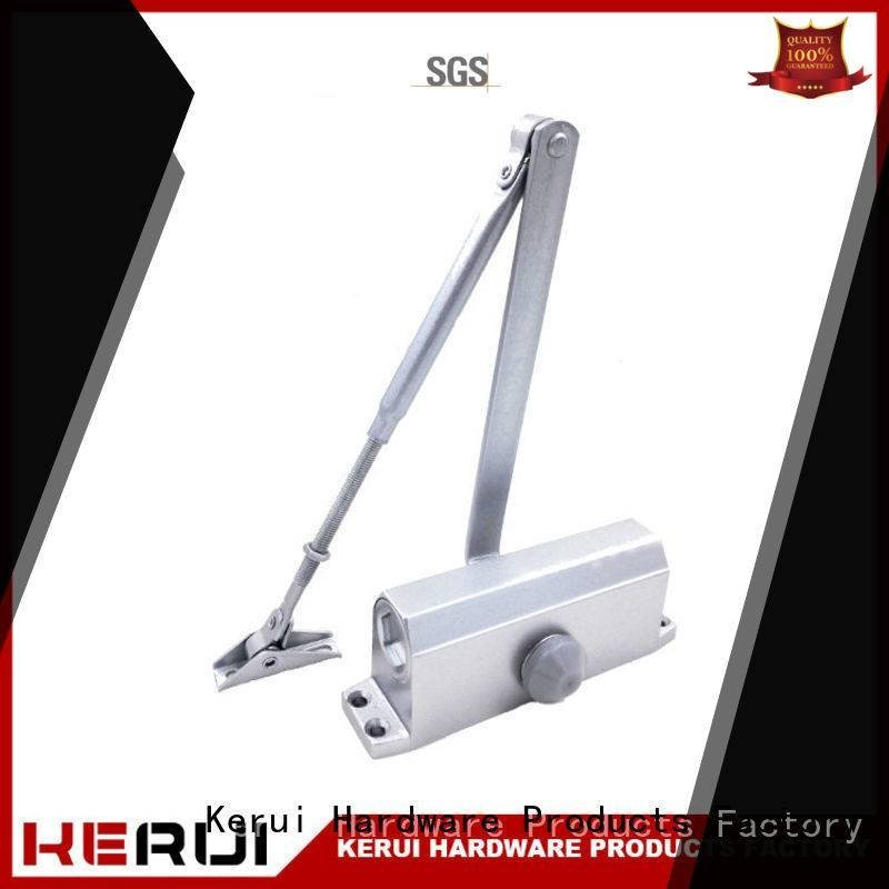 double door hexagonal Kerui Furniture Hardware automatic door closer