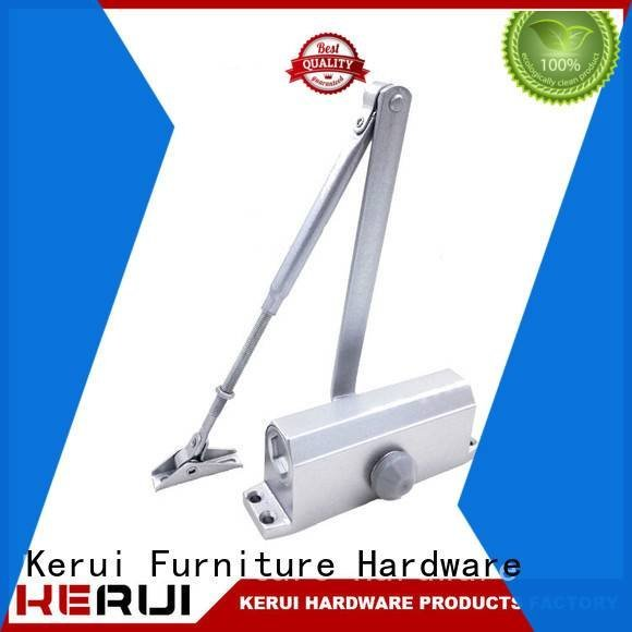 round square closers automatic door closer Kerui Furniture Hardware
