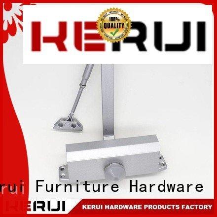 automatic door closer price round spring automatic door closer Kerui Furniture Hardware Brand