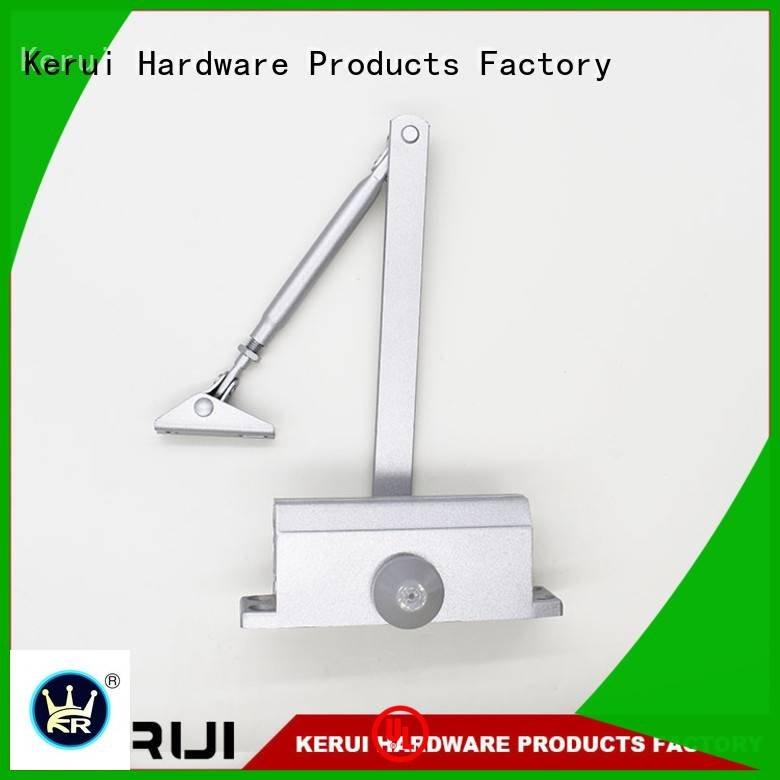 Kerui Furniture Hardware Brand round quadrangle square automatic door closer