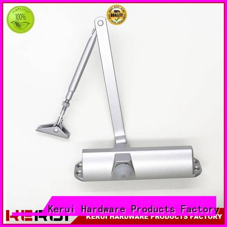 hidden door square triangel Kerui Furniture Hardware automatic door closer