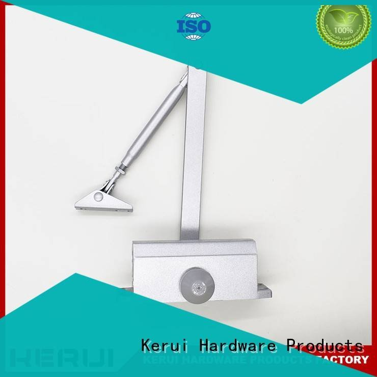 double door Kerui Furniture Hardware Brand automatic door closer price