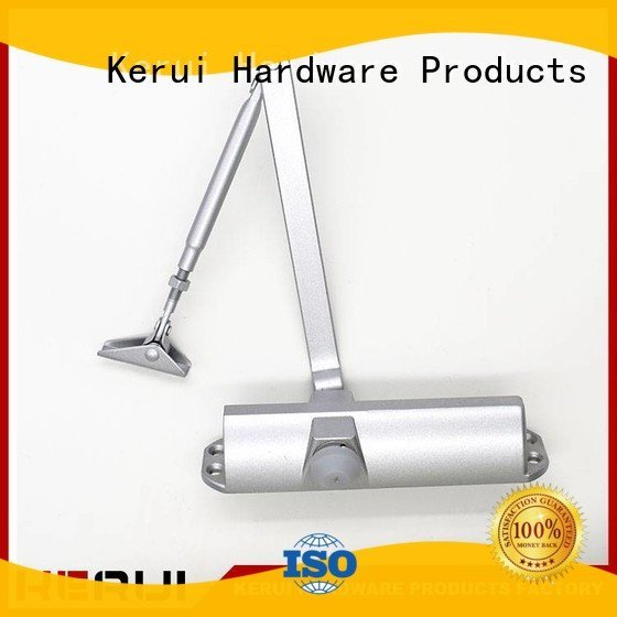 Kerui Furniture Hardware automatic door closer spring door round triangel